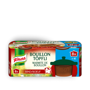 Bouillon Töpfli Rind
