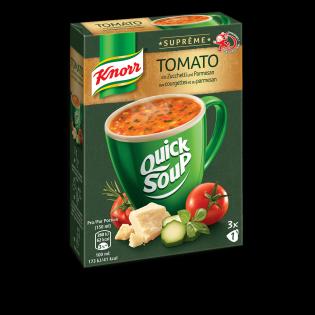 Tomato mit Zucchetti und Parmigiano