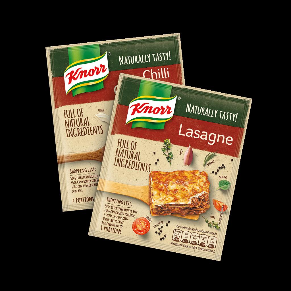Knorr lasagne tillagning