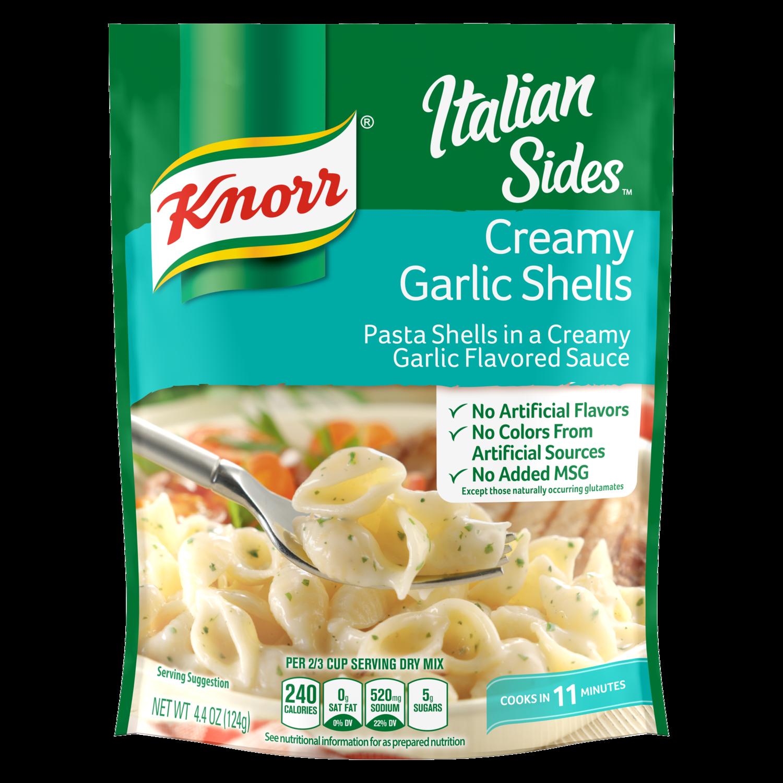 Knorr 174 Italian Sides Creamy Garlic Shells Knorr Us