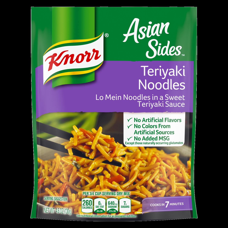 Knorr 174 Asian Sides Teriyaki Noodles Knorr Us