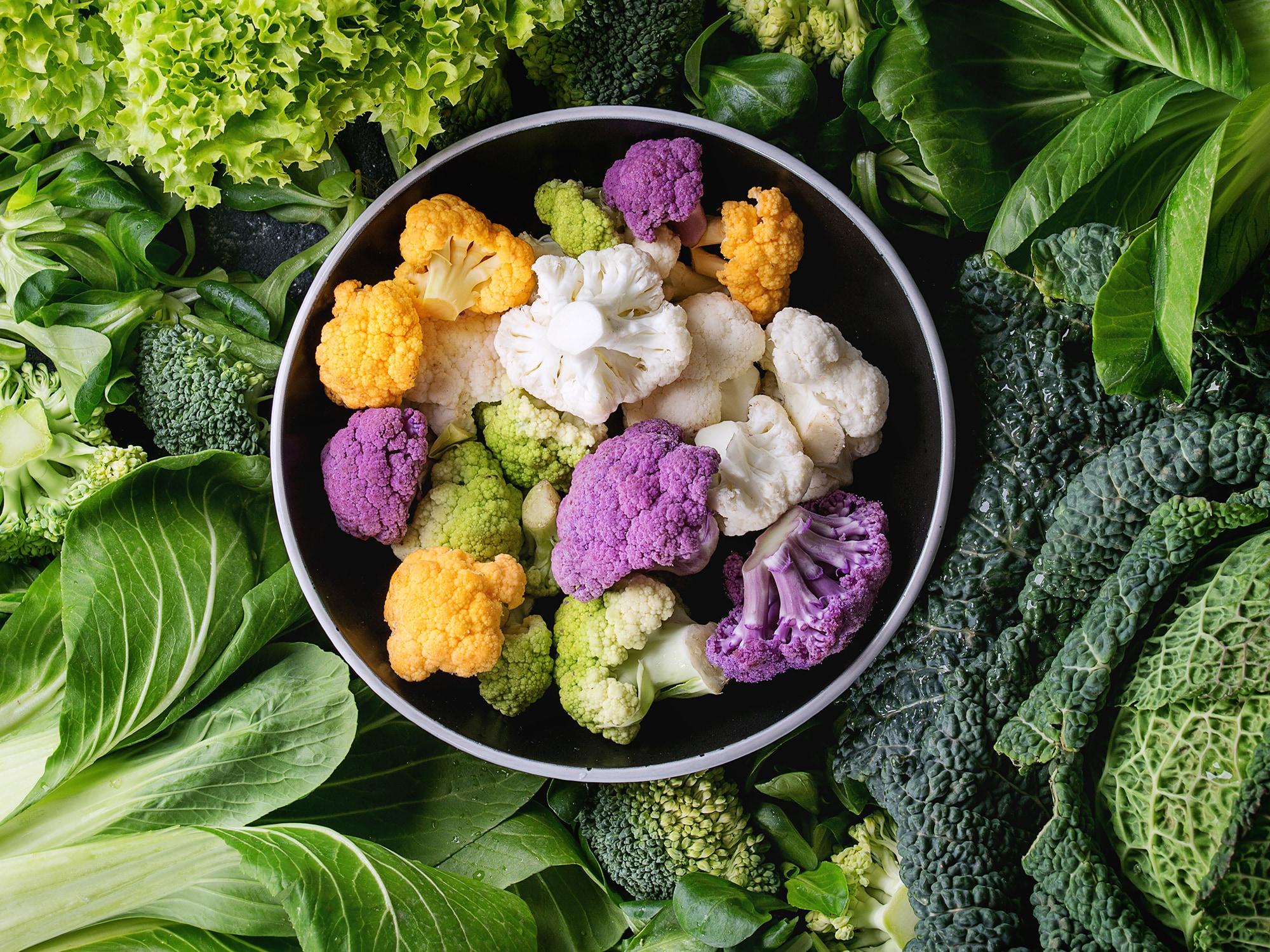 ăn rau xanh giúp thải độc gan